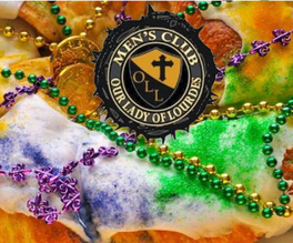 "OLL Men's Club ""King Cakes"" from Jay's Bakery"
