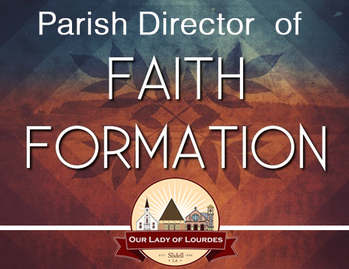 OLL Seeks a Parish Director of Faith Formation – Applications due by June 20, 2021