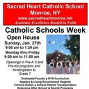 Catholic Schools Week Open House Flyer