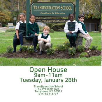 Open House- January 28th