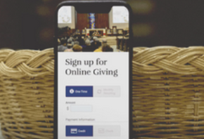 e-Giving is easy!