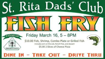 Dad's Club March Fish Fry