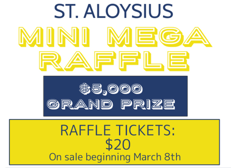2021 Mini Mega Raffle