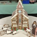 Queen of Peace Church in Gingerbread!
