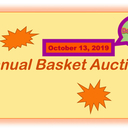 Coming Soon! --Just 3 Months to Go! Queen of Peace Annual Basket Auction, October 13, 2019