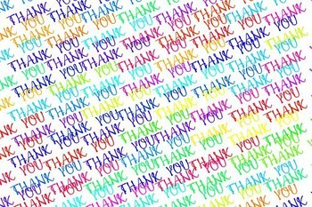 A Sincere Thank You