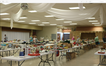 June 2 - Queen of Peace Garage & Bake Sale