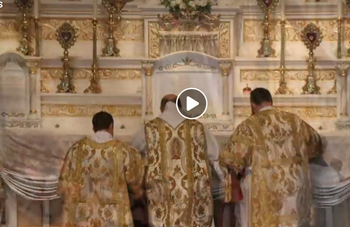 *Updated* Video/Photo Montage of Solemn High Mass