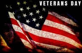 Nov. 11 - Veterans Day