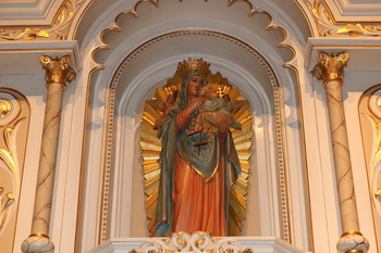 """Our Lady, Queen of Peace"""