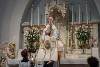 "High Mass/Supper/Talk on ""The Four Qualities of the Liturgy"""