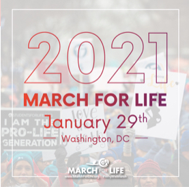 "Jan. 29 - ""Watch the March for Life Live"""