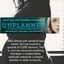 """""""Unplanned"""" film to be shown at St. Catherine's on August 25, 2019"""
