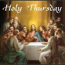 7:00 pm Holy Thursday Mass of the Lord's Supper Online