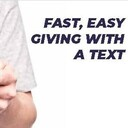January 18: New Text-to-Give Option Available!