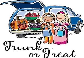 Trunk or Treat, Parking Lot adjacent to Marian Hall