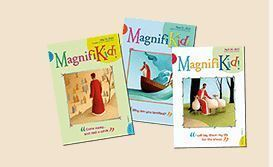 April 7: MagnifiKids Available for Children at Weekend Masses