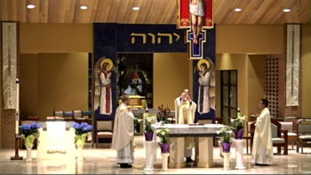 4:00 pm Mass with First Communions, Church (also streamed live and recorded)
