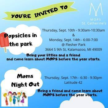 """MOPS """"Popsicles in the Park"""" Event, Flesher Park"""