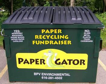January 18: Help Our Parish by Recycling Your Paper in our Paper Gator Bins!