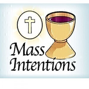 January 29: Mass Intentions for January 30th through February 7th