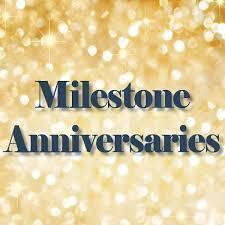 March 1: Are You Celebrating a Milestone Wedding Anniversary Soon?