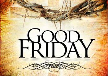1:00 pm  Good Friday Celebration of the Lord's Passion and Veneration of the Most Holy Cross