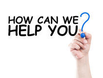 May 27: How Can We Help You?