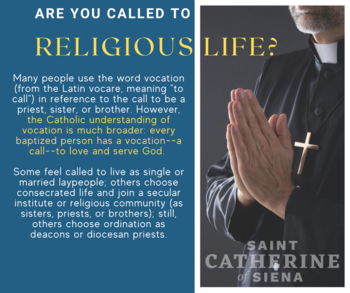 July 26: Do You Know What a Vocation Is?