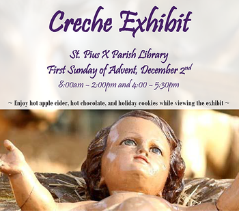 (Re)Open House with Creche Exhibit