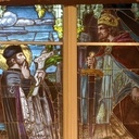 St. John Nepomucene window returns!