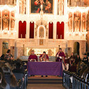 St. Ignatius College Prep Celebrates First Friday Mass at Holy Family During Academic Year