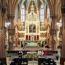 Homily draws parallels to Paris and the Archdiocese's decision to close Holy Family