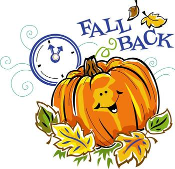 Daylight Savings Time Ends - Fall Back!