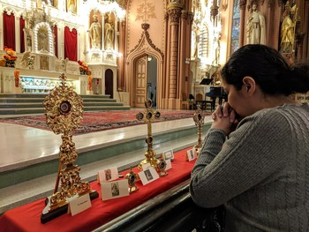 Relics of the Holy Family on display this weekend