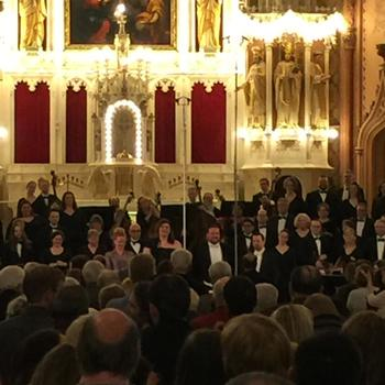 Apollo Chorus Celebrates Holy Family's 160th with Beauty