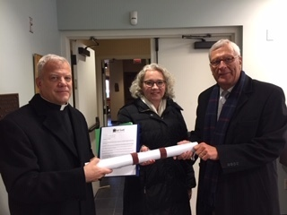 Petition delivered to Cardinal Cupich