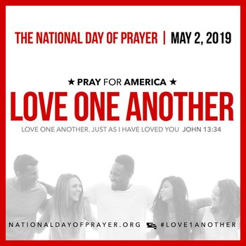 National Day of Prayer - Love One Another