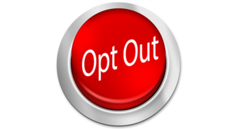 Opt Out Information
