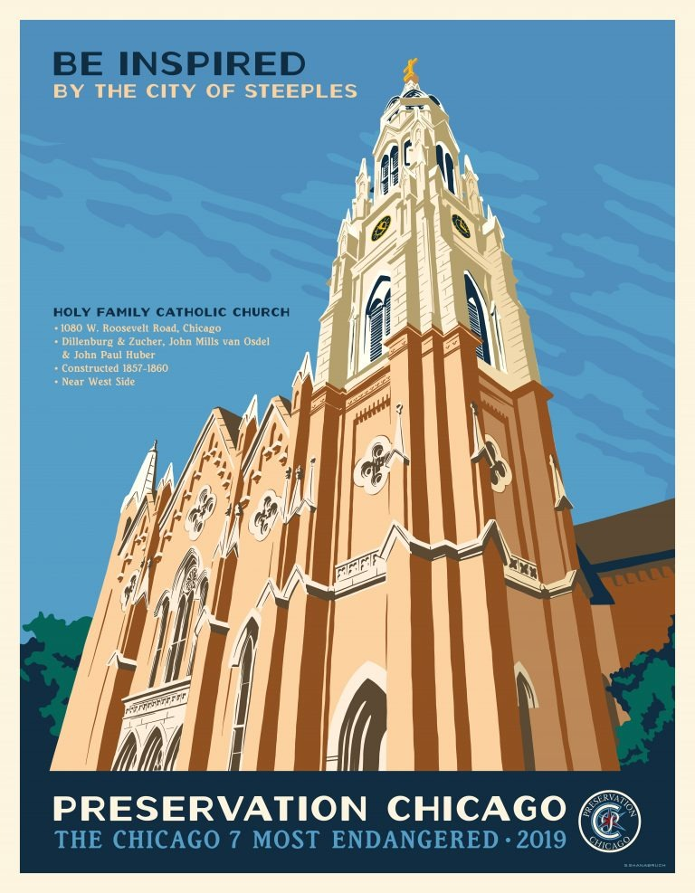 PRESERVATION CHICAGO FEATURES HOLY FAMILY
