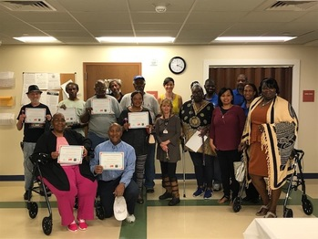 Residents Graduate From Library Computer Program