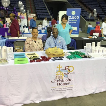 Christopher Homes Sponsors New Orleans Expo for Seniors