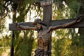 Outdoors Stations of the Cross