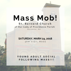 March Young Adult Mass Mob