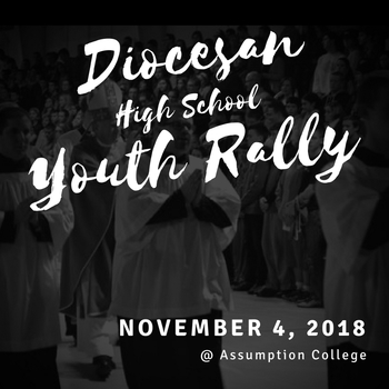 Diocesan High School Youth Rally