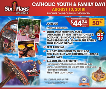 Six Flags Catholic Youth and Family Day