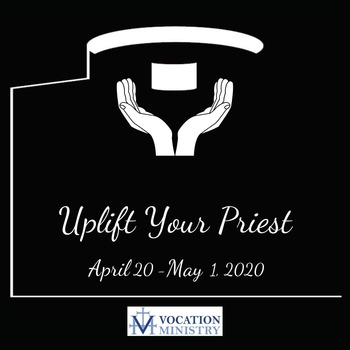 April 29, 2020 Parade to Show Appreciation to Monsignor Padazinski and Father Ginter
