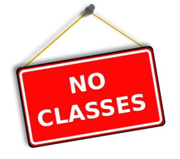 No Religious Education Classes (Christmas)