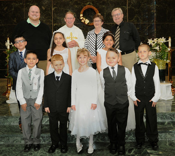 1st Communion and Confirmation at Blessed Sacrament