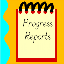 Progress Reports go Home